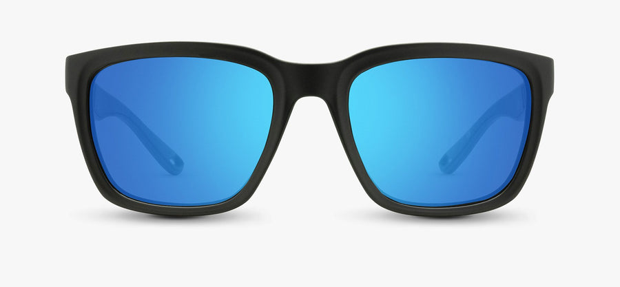 Black Frame - Blue Lens
