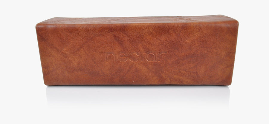 Light Brown Magnetic Hard Case