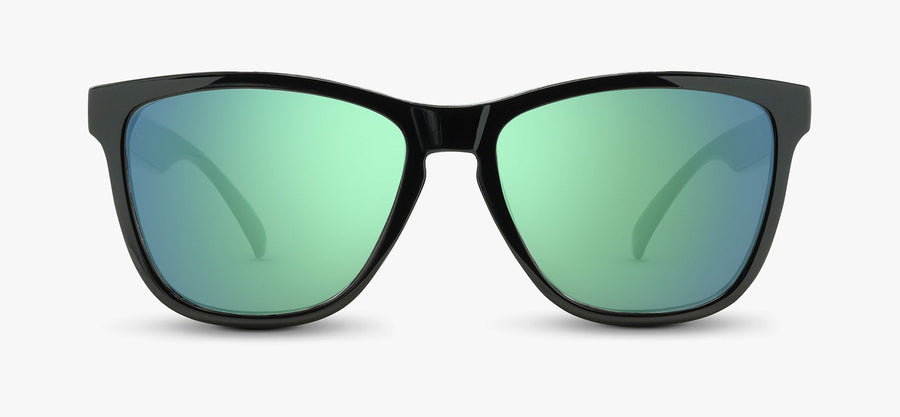 Black Frame - Green Lens