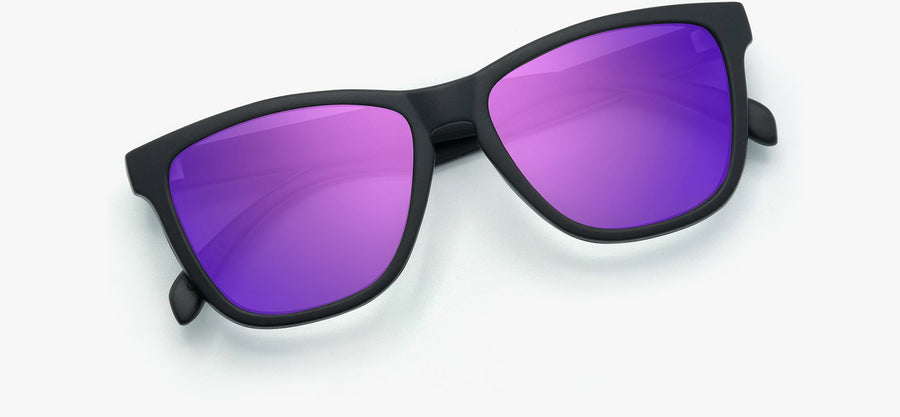 Black Frame - Purple Lens