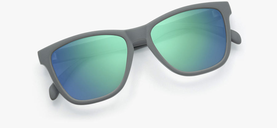 Grey Frames - Blue Green Lens