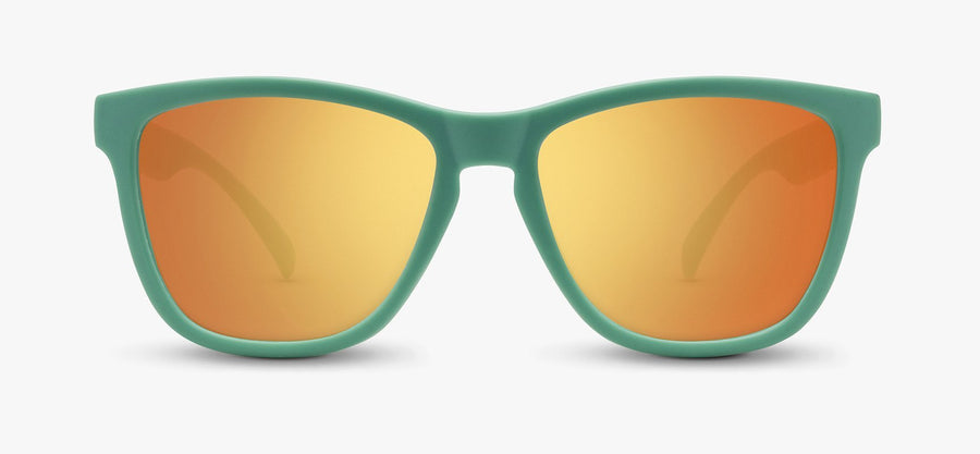 Mint Frame - Orange Lens