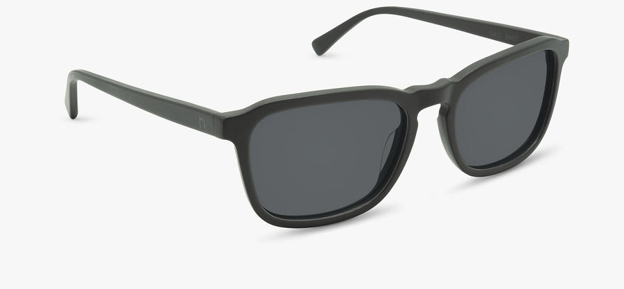Matte Midnight Black Frame - Smoke Lens
