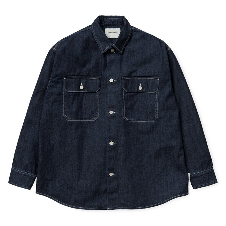 carhartt-wip-camisas-w-l-s-gallagher-shirt-azul