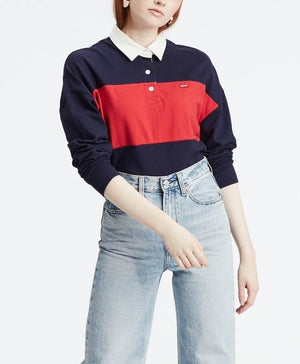 levi-s-polos-w-jordyn-rugby-tee-multicolor