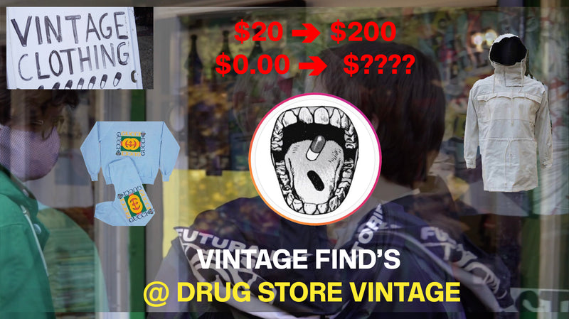 Vintage Shopping with Lucid Twins @ Drug Store Atlanta