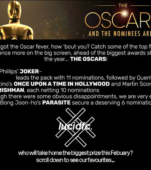THE OSCARS - AND THE NOMINEES ARE... 🏆 🎥