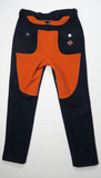 Doeskin Workwear Trousers - Midnight Navy/Orange