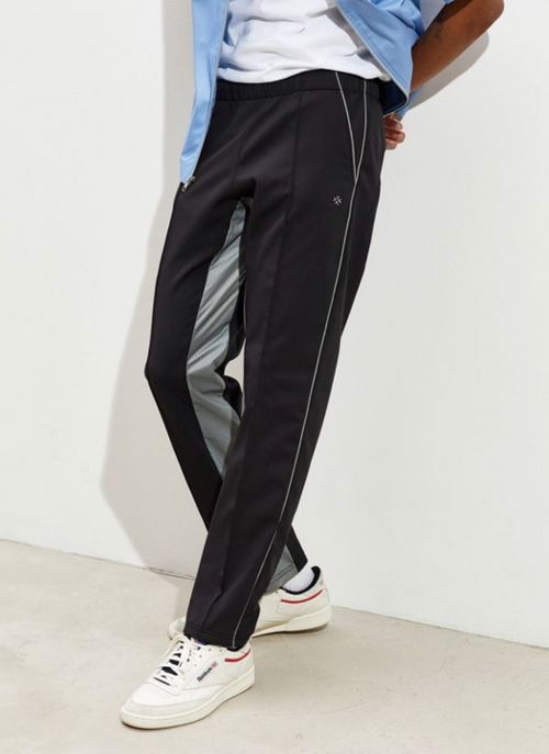 Tailored Tech Knit Trousers black/grey