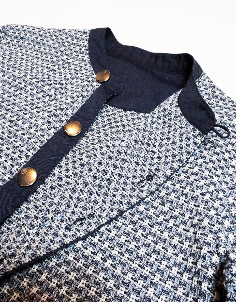 Tweed Button Shirt