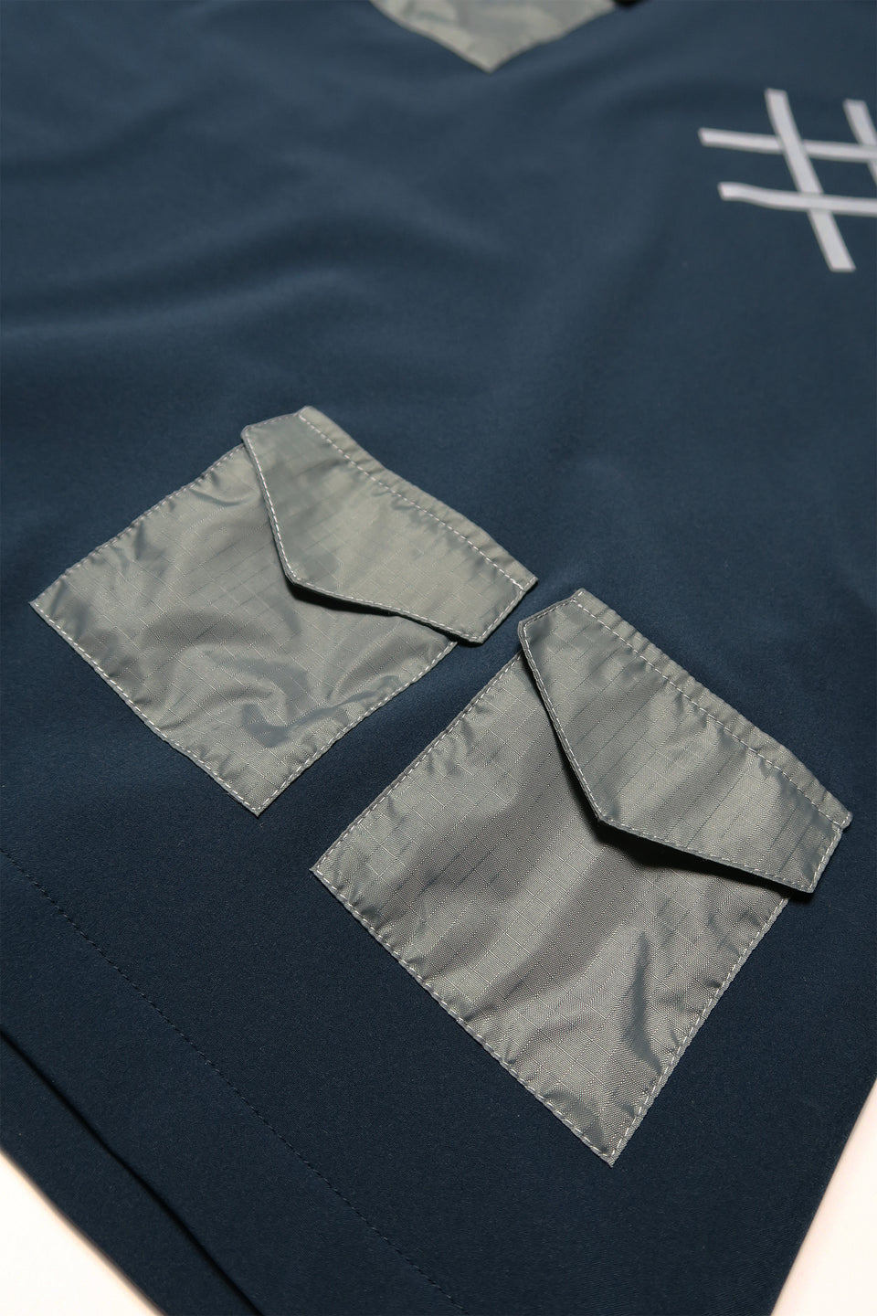 Utility Pocket Jumper navy / grey