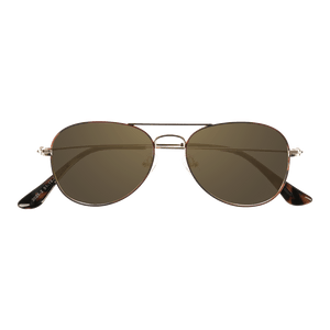 ORA II - DEMI GOLD SUNGLASSES SAINT REETS DARK AMBER