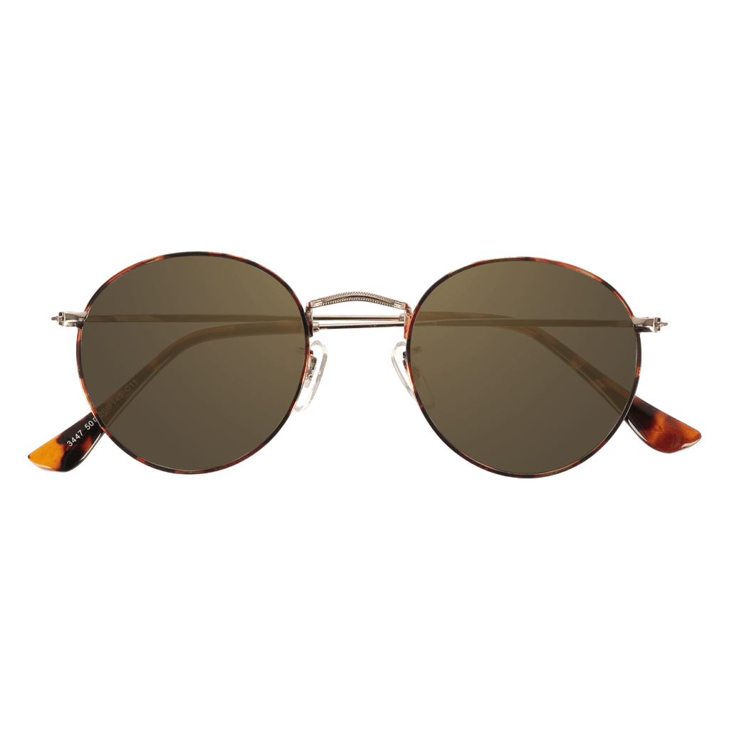 SPENCER - DEMI GOLD SUNGLASSES SAINT REETS DARK AMBER