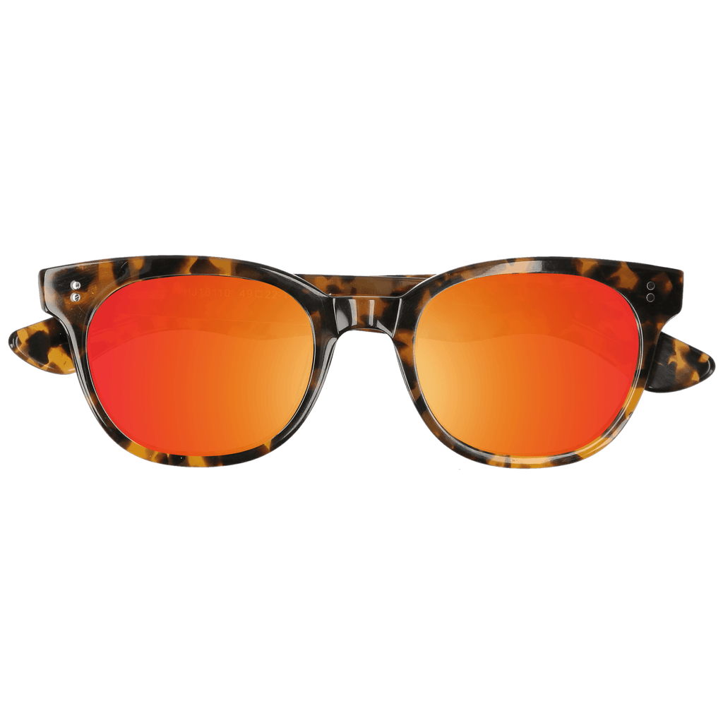 ACUBA - CAMO TORTOISE SUNGLASSES SAINT REETS MIRRORED ORANGE RUST