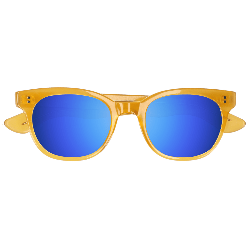 ACUBA - HONEY DAWN SUNGLASSES SAINT REETS MIRRORED DARK BLUE