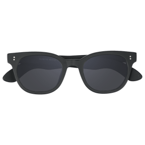 ACUBA - MATTE BLACK SUNGLASSES SAINT REETS DARK GREY