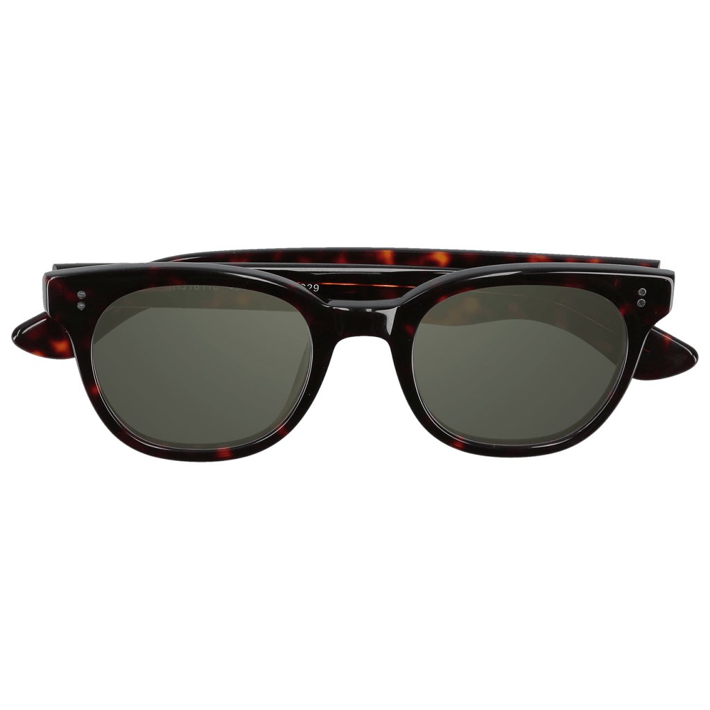 ACUBA - RUBY FLAME TORTOISE SUNGLASSES SAINT REETS DARK GREEN