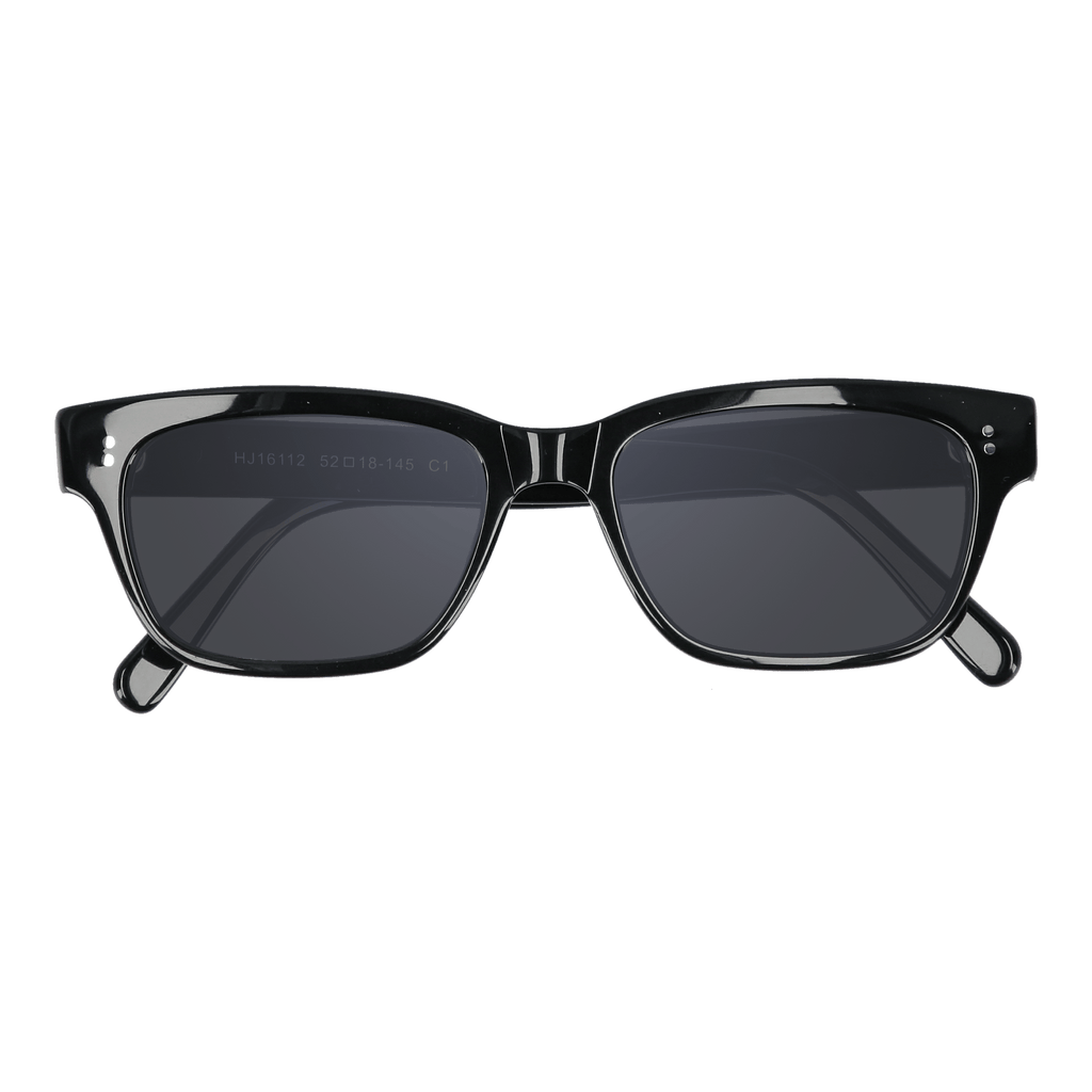 CALLAHAN - BLACK GLOSS SUNGLASSES SAINT REETS DARK GREY