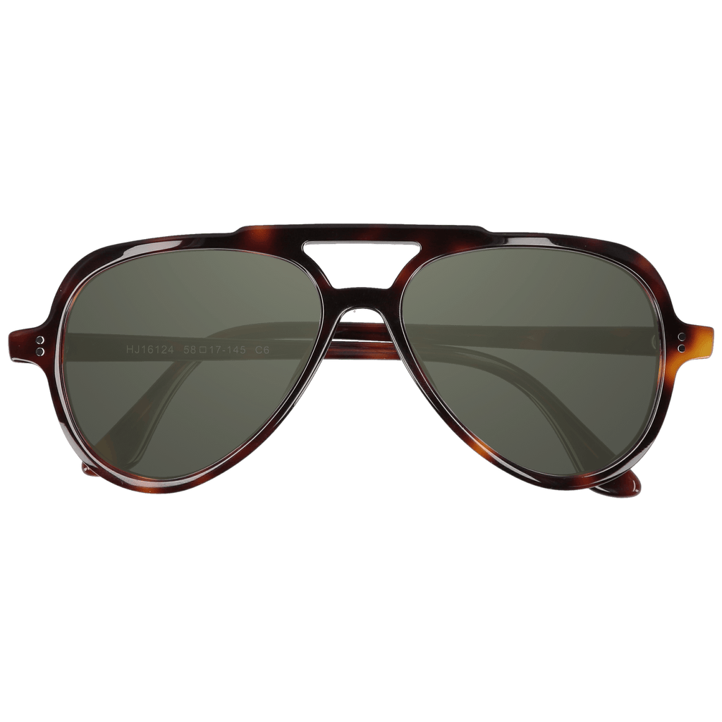 EWING - DARK TORTOISE SUNGLASSES SAINT REETS DARK GREEN