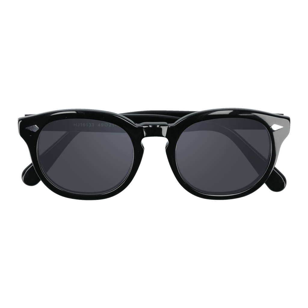 RANIER - BLACK SUNGLASSES SAINT REETS DARK GREY