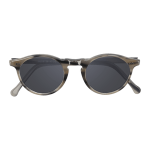 PARAN- STRIPE GREY WOLF SUNGLASSES SAINT REETS DARK GREY