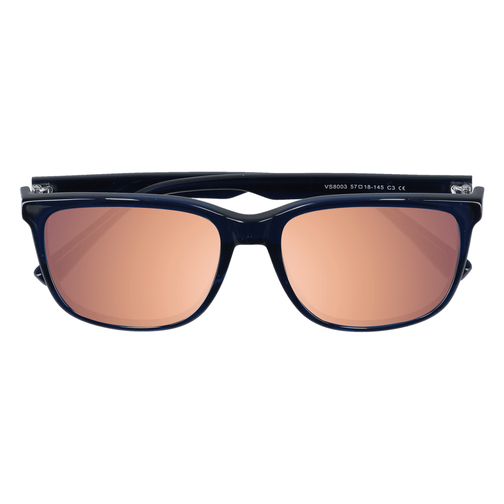 HOFFMAN - OBSIDIAN NAVY SUNGLASSES SAINT REETS MIRRORED PINK