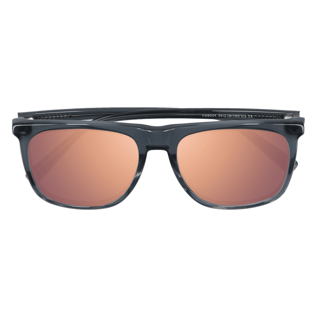 OAKMONT - GREY CRYSTAL SUNGLASSES SAINT REETS MIRRORED PINK