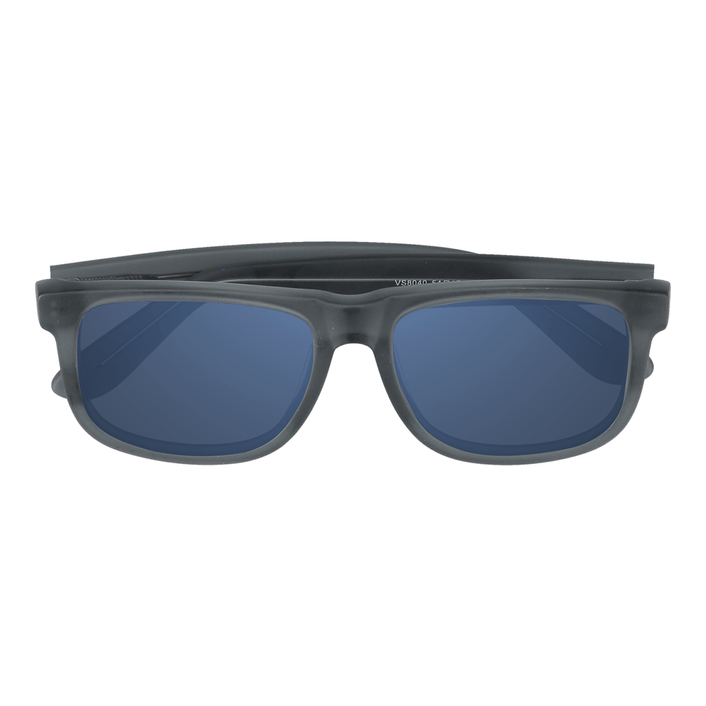 FLYNN - MATTE GREY SUNGLASSES SAINT REETS DARK BLUE