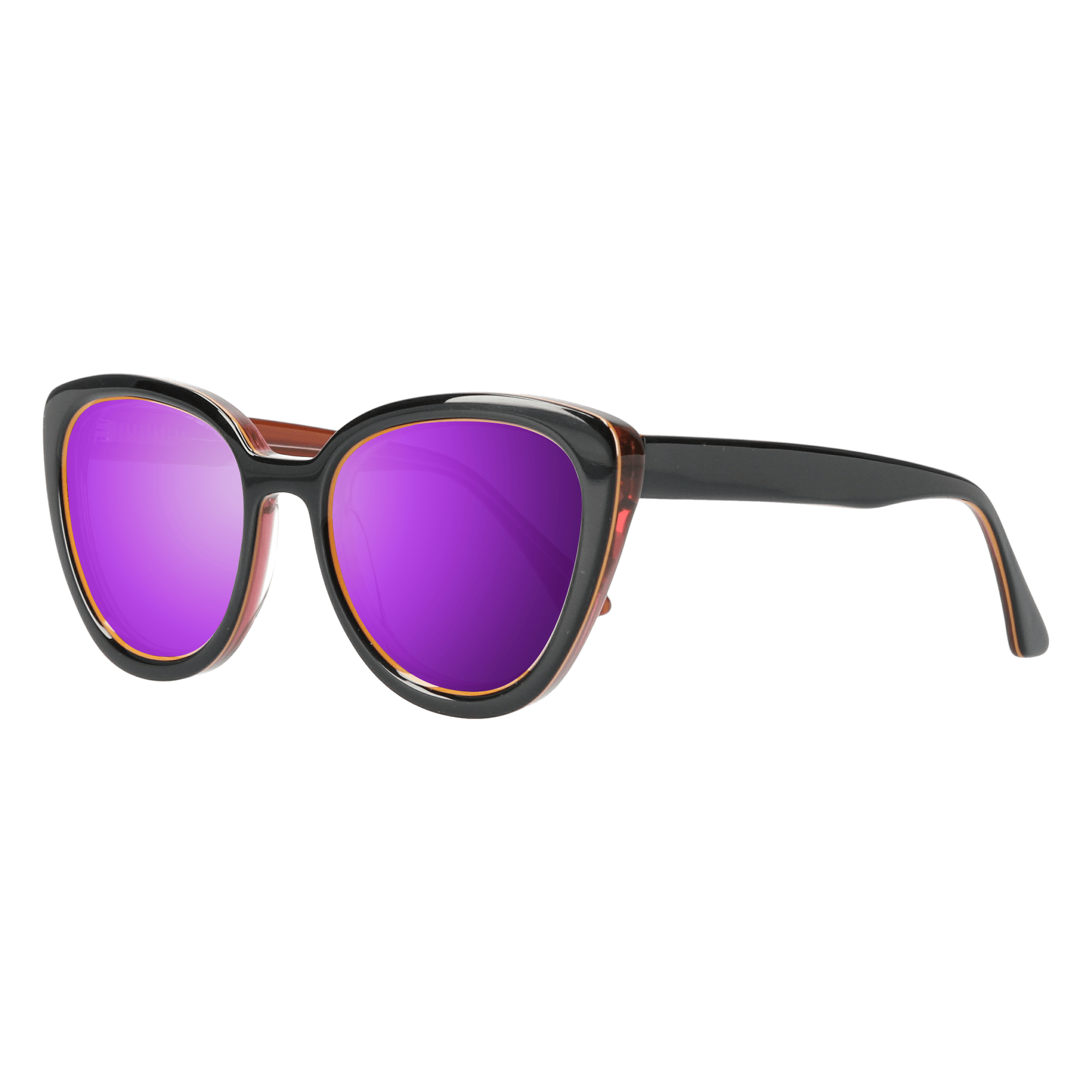 LA'JEAN - BLACK-BROWN SUNGLASSES SAINT REETS