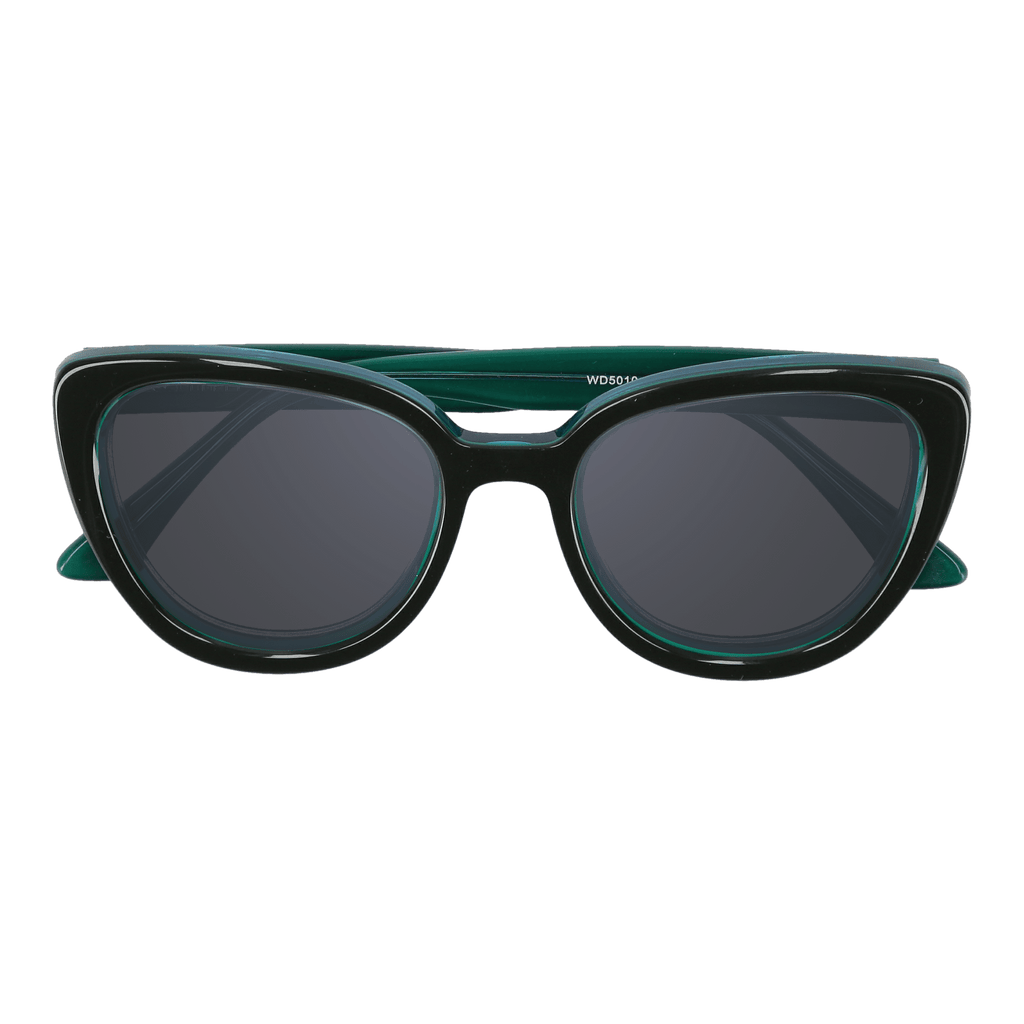 LA'JEAN - OLIVINE-GREEN SUNGLASSES SAINT REETS DARK GREY