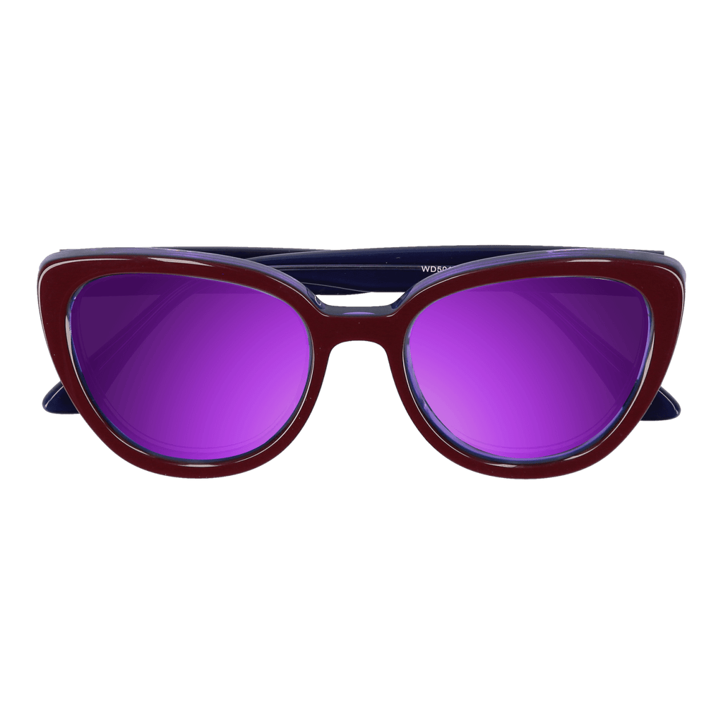 LA'JEAN - PURPLE-BLUE SUNGLASSES SAINT REETS MIRRORED PURPLE