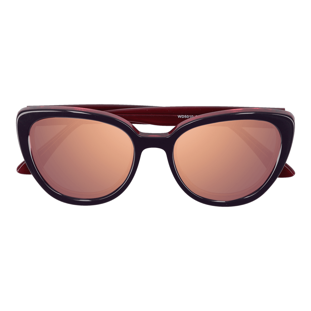 LA'JEAN - PURPLE-PINK SUNGLASSES SAINT REETS MIRRORED PINK