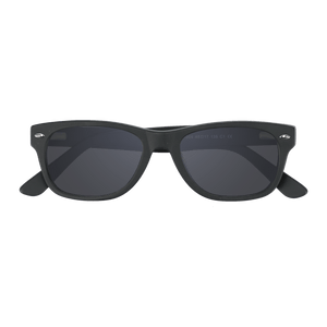 ELLIJAY - MATTE BLACK SUNGLASSES SAINT REETS DARK GREY