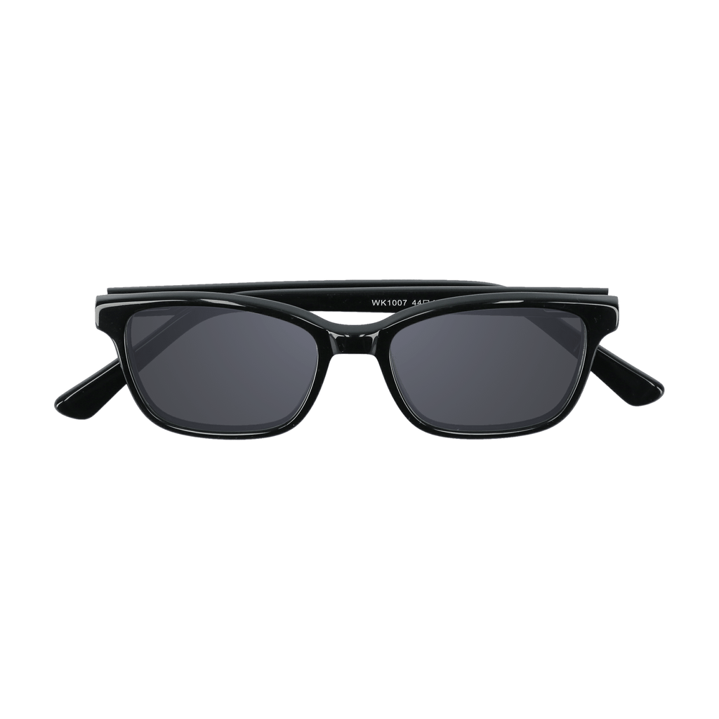 BIXBY - BLACK SUNGLASSES SAINT REETS DARK GREY