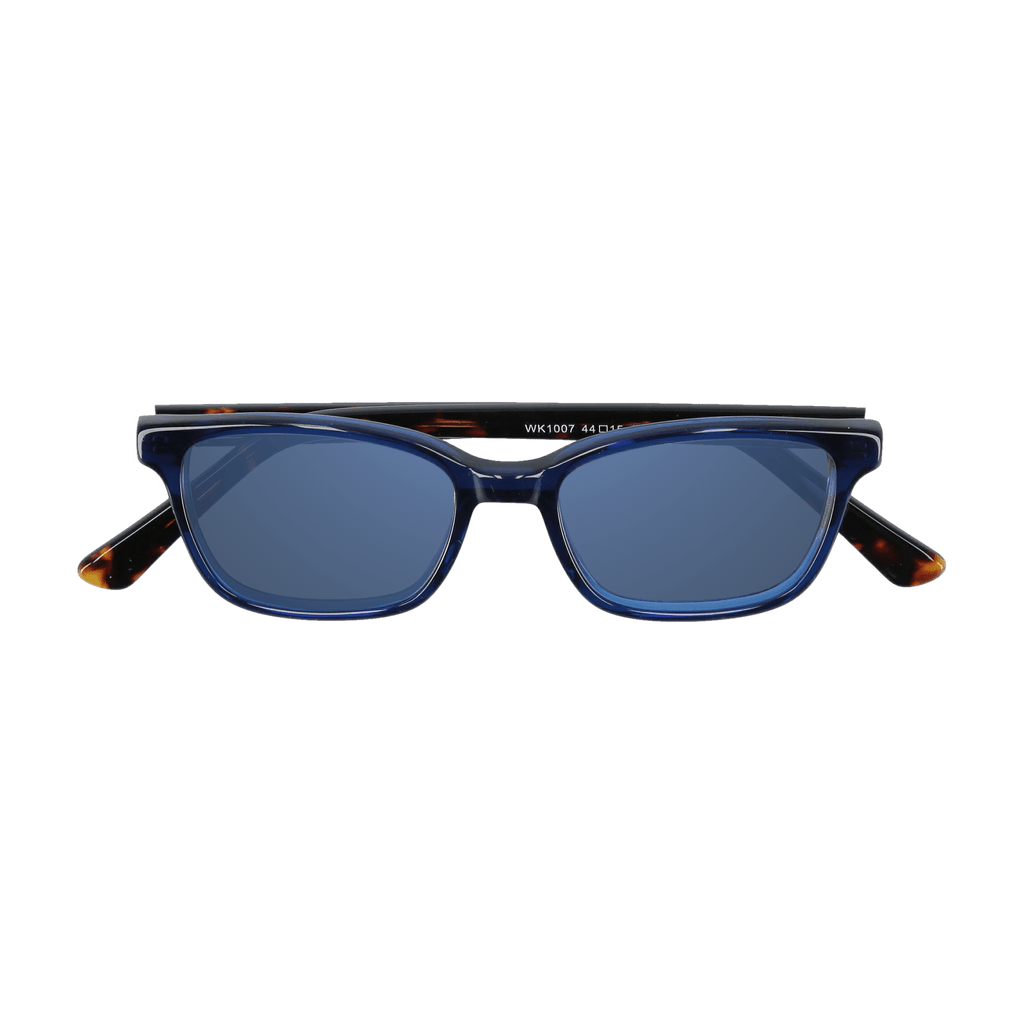 BIXBY - NAVY-TORTOISE SUNGLASSES SAINT REETS DARK BLUE