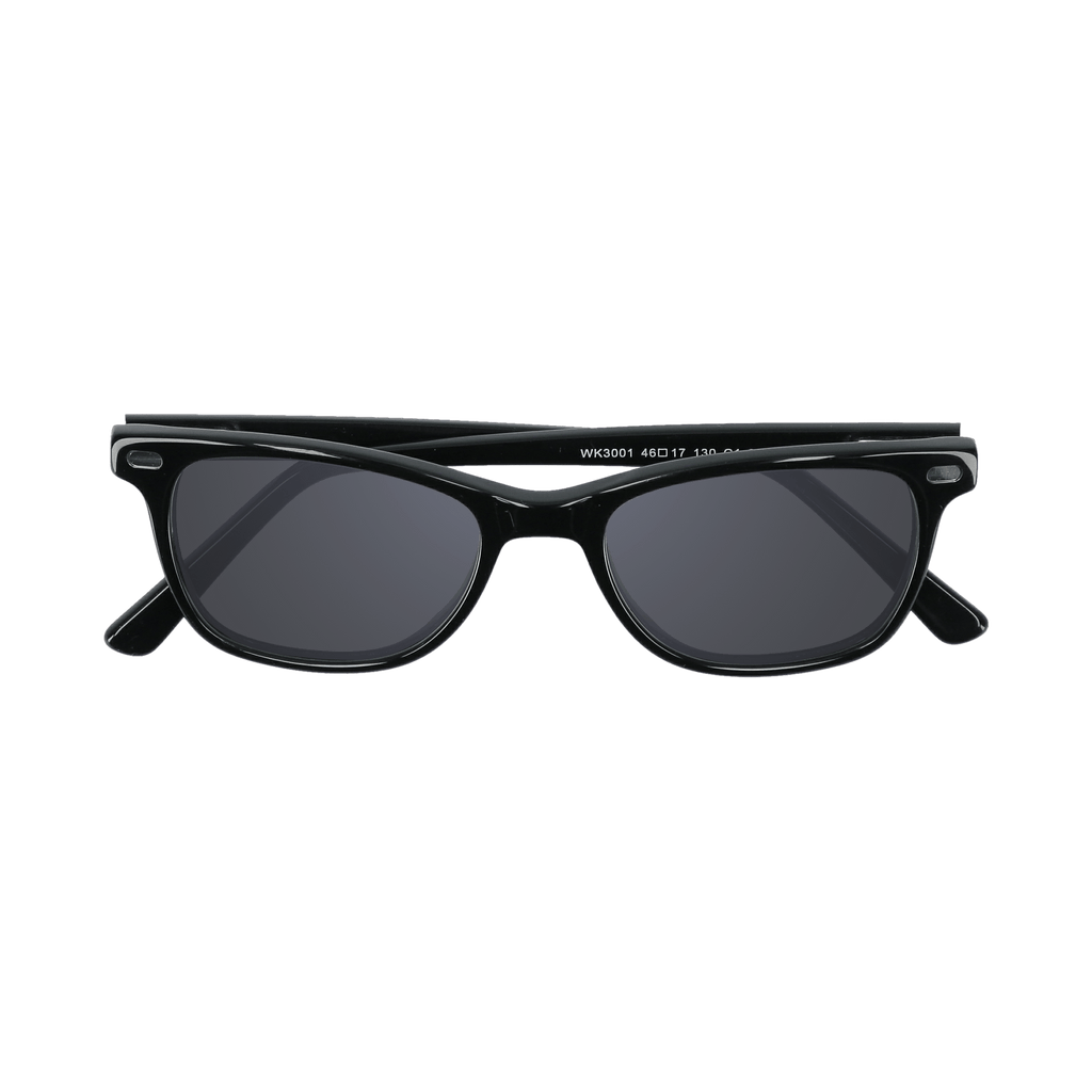 HUDSON - BLACK SUNGLASSES SAINT REETS DARK GREY