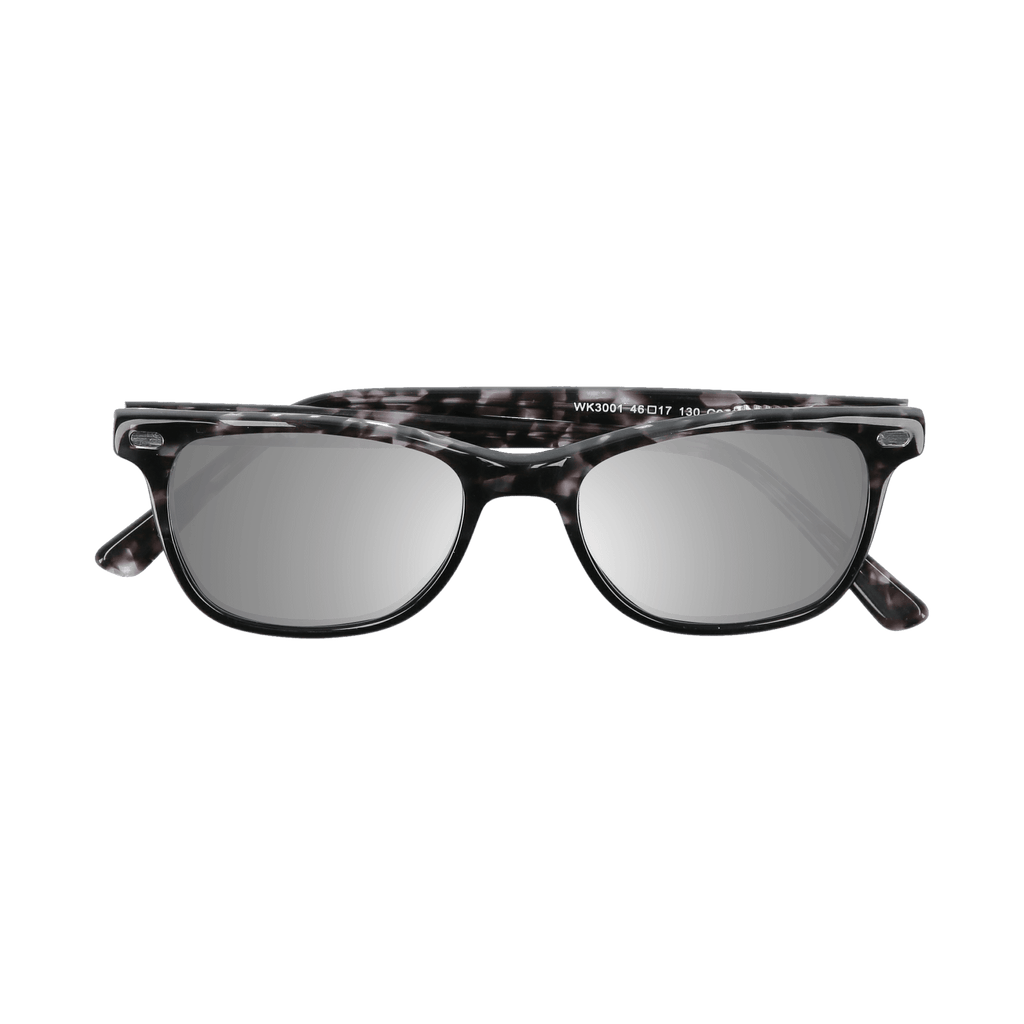 HUDSON - DEMI-BLACK SUNGLASSES SAINT REETS MIRRORED SILVER