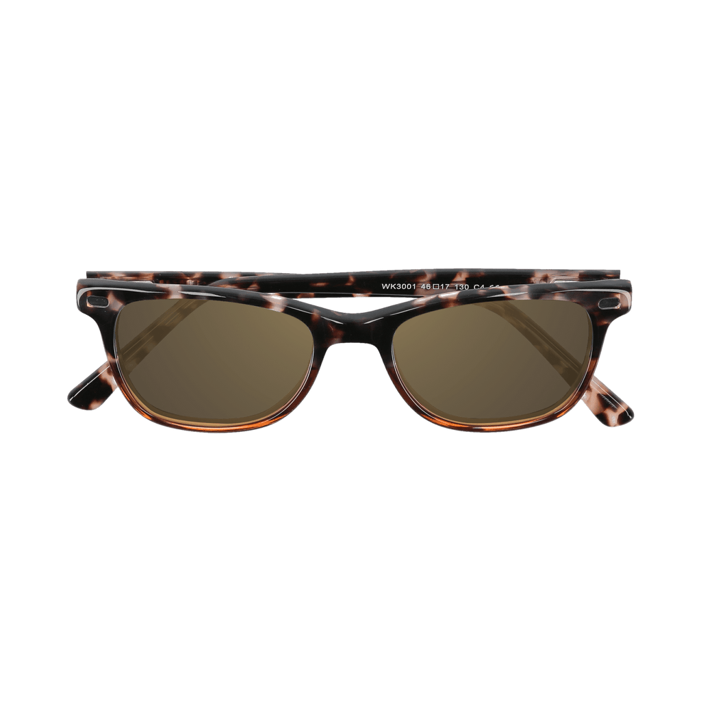 HUDSON - DEMI-BROWN SUNGLASSES SAINT REETS DARK AMBER