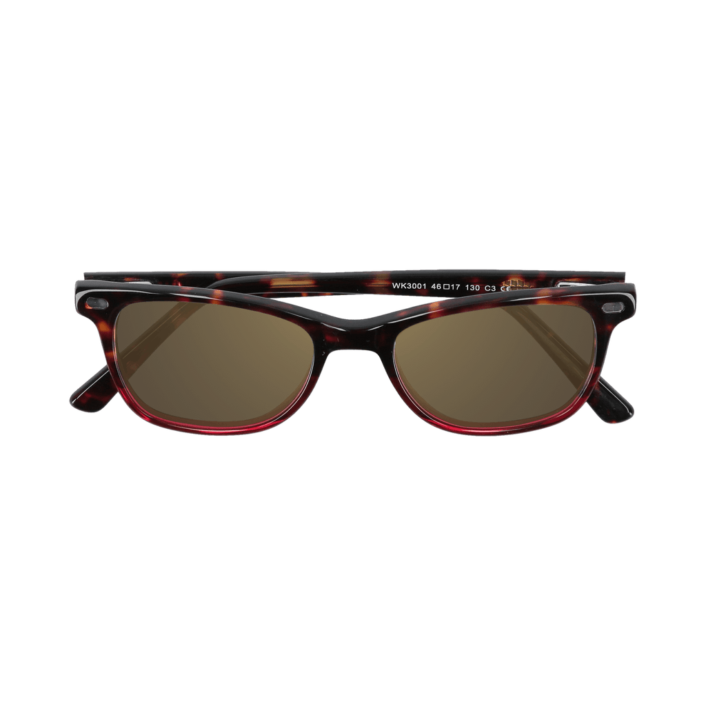 HUDSON - DEMI-WINE SUNGLASSES SAINT REETS DARK AMBER
