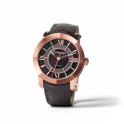 Montegrappa Rose Gold Automatic Watch