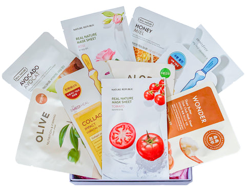 10 x Basic Sheet Masks