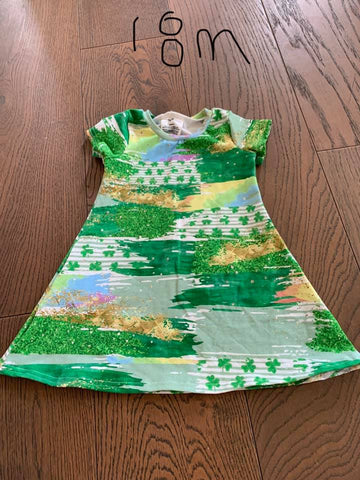 18m St Patrick's Day Swing Dress