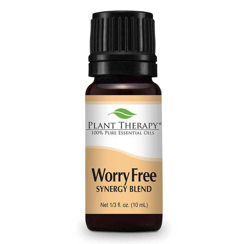 Plant Therapy - 10 ml Worry Free Synergy Essential Oil