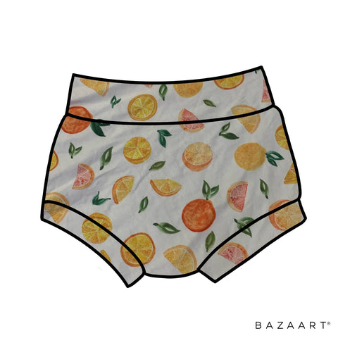 Citrus High Waisted Bummies