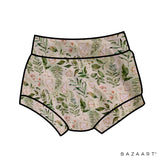 Foliage High Waisted Bummies