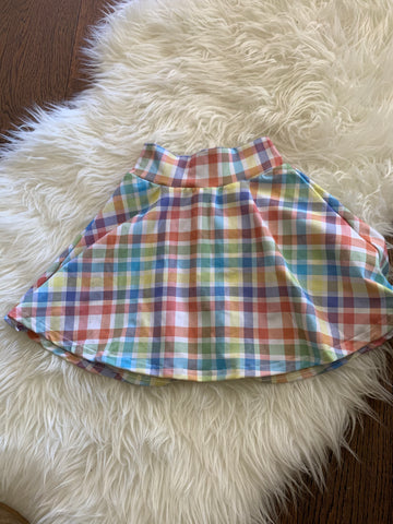 4t plaid skater skirt