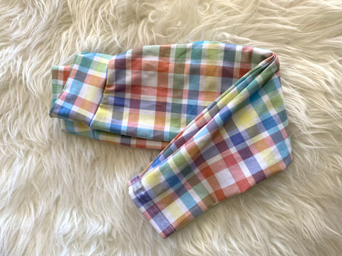 2t plaid leggings