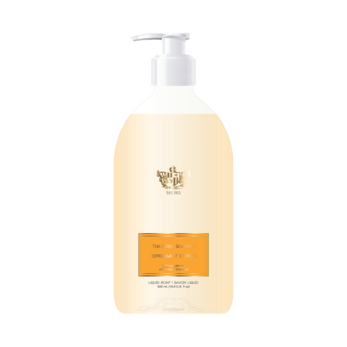 Bergmot Citrus Liquid Soap
