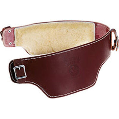 Leather Belt Liner with Sheepskin  5005