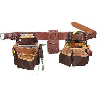 Seven Bag Framer Leather Tool Belt 5089